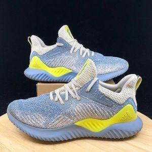 Adidas Alphabounce AQ0576 Grey/neon Running Shoes